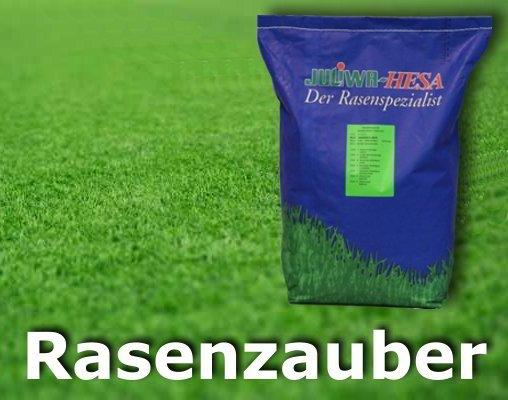 Schnell wachsender Rasen Rasenzauber 5 Kg