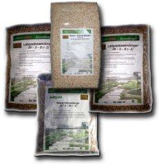 Jahrespaket Rasendünger für 200 m²